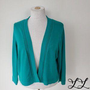 Precis Petite Cardigan Sweater Shrug Cocoon Knit